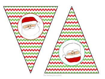 {Freebie!!!} Merry Christmas Pennant Bunting Banner