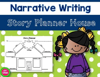 {Freebie!} Narrative Writing Story Planner House