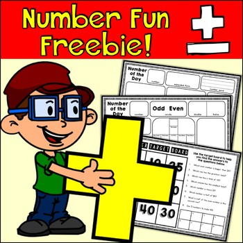 {Freebie} Number Fun!