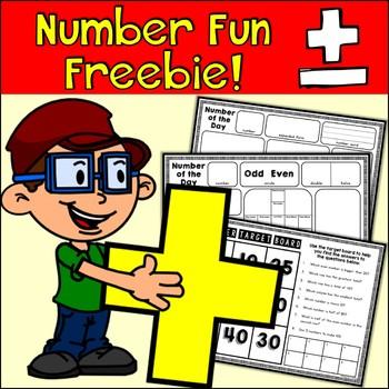 {Freebie} Number Fun!
