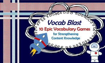 Vocabulary Game: Strengthen Content Knowledge the Fun Way!
