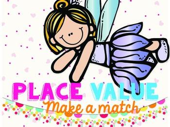 {Freebie} Place Value Make a Match