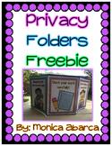 {Freebie} Privacy Folders