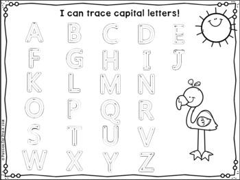 {Freebie!} Summer Writing Practice - Pre-K, Preschool, and Kindergarten