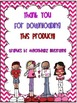 """* Freebie *  """"Sweet"""" Valentine's Day Notes for Students"""