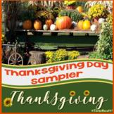 Free Thanksgiving Activities Sampler