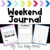 *Free* Weekend Journal Pages