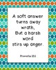 (Freebie) Words of Wisdom from the Book of Proverbs Classroom Posters