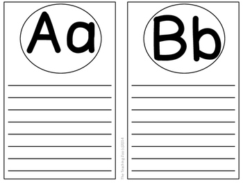 {Freebie!} Write On!  ABC Writable Banner