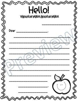☀️ Friendly Letter Templates