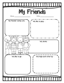 """Friends"" a McGraw Hill Wonders Text Study"