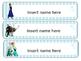 """Frozen"" desk nametags (editable!)"