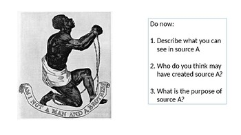 *Full Lesson* Abolition of Slavery