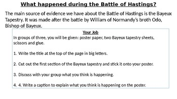* Full Lesson* Battle of Hastings: What happened at the Battle of Hastings