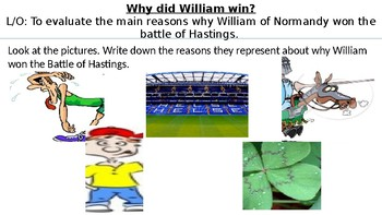 *Full Lesson* Battle of Hastings:Why did William win?