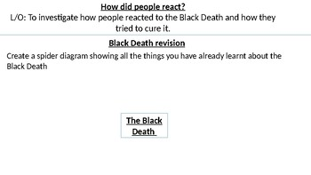 *Full Lesson* Black Death:Causes and Cures