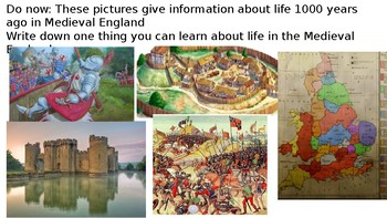*Full Lesson* Life in Medieval England