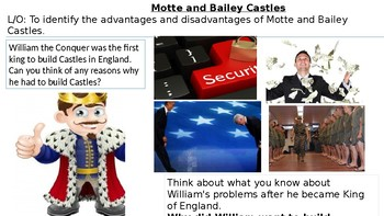 *Full Lesson* Motte and Bailey Castles