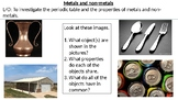 *Full Lesson* Properties on Metals and Non-Metals