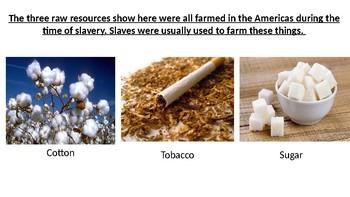 *Full Lesson* Slavery: The Triangular Trade