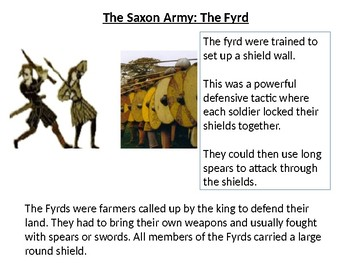 *Full Lesson* The Battle of Hastings: Norman and Saxon soldiers