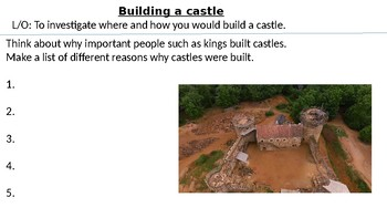 *Full Lesson* The Best Place to Build a Castle