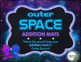 **Fun ADDITION MATS- OUTER SPACE Themed!!