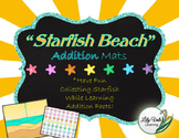 "**Fun ADDITION MATS- ""STARFISH BEACH"" Themed!!"