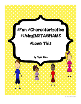 #Fun #Characterization #Using Instagrams #Love This