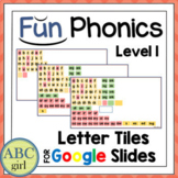 Fun PHONICS Level 1 Distance Learning Letter Tiles for Goo