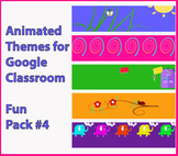 Google Classroom Animated Themes (Fun Pack #4)