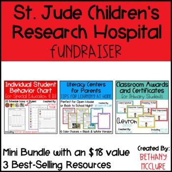 #Fundraiser Mini Bundle for St. Jude - Behavior Management & Literacy Centers
