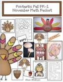 """35% Off: """"Funtastic"""" Fall"""" November Math Activities & Crafts For PK-1st"""