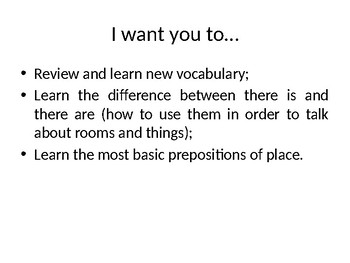 """""""Furniture and accessories"""" PP Presentation for A1 A2, ESL teachers"""