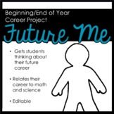 """Future Me"" First Week of School Project"