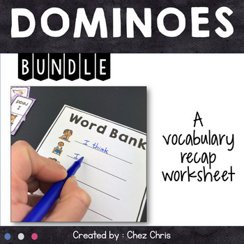 [GAME]BUNDLE Dominoes : 11 games for your fast finishers ! Set 1