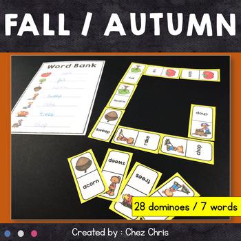 [GAME]Dominoes : Fall / Autumn - 28 dominoes