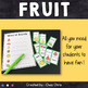 Dominoes - Fruit Vocabulary