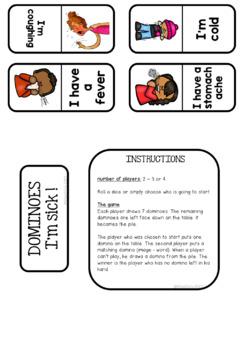 Dominoes - Health Vocabulary
