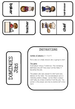 [GAME]Dominoes : Jobs - 28 dominoes