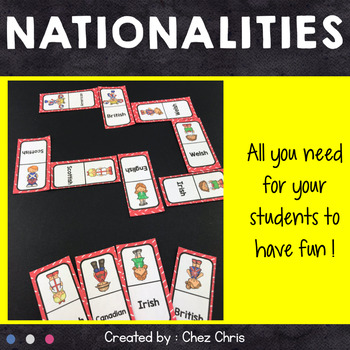 Dominoes - Nationalities