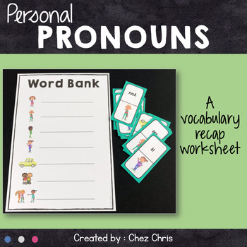 Dominoes - Personal Pronouns