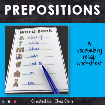 Dominoes - Prepositions