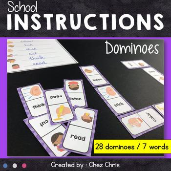Dominoes - School Instructions