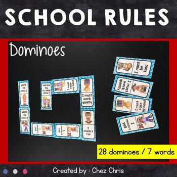 Dominoes -  School Rules