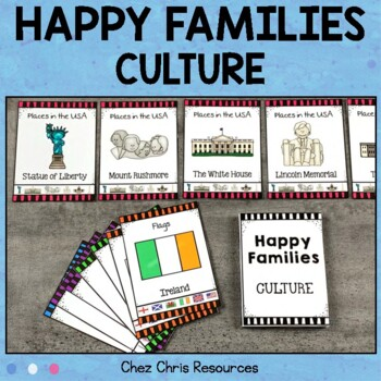 Happy Families -  Culture Game