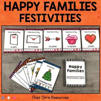 Happy Families Game - Holidays