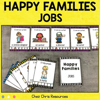 Happy Families - Jobs Game