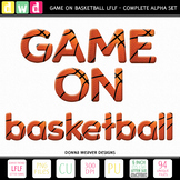 *GAME ON - BASKETBALL LFLF* Printable Letters Numbers Spor