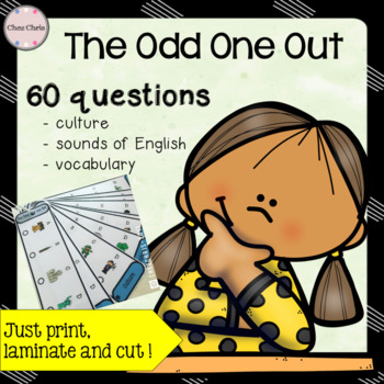 The Odd One Out Game - Culture, Phonics and Vocabulary